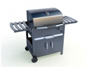 Big Size Garden Mobile Gas BBQ Grill BG8011