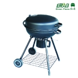 Green Flame BBQ Grills/New BBQ Grill With Two Wheels