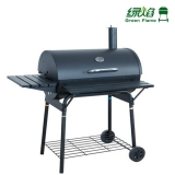 Outdoor Mobile Compact Charcoal Smoker With Tables YK-1055A