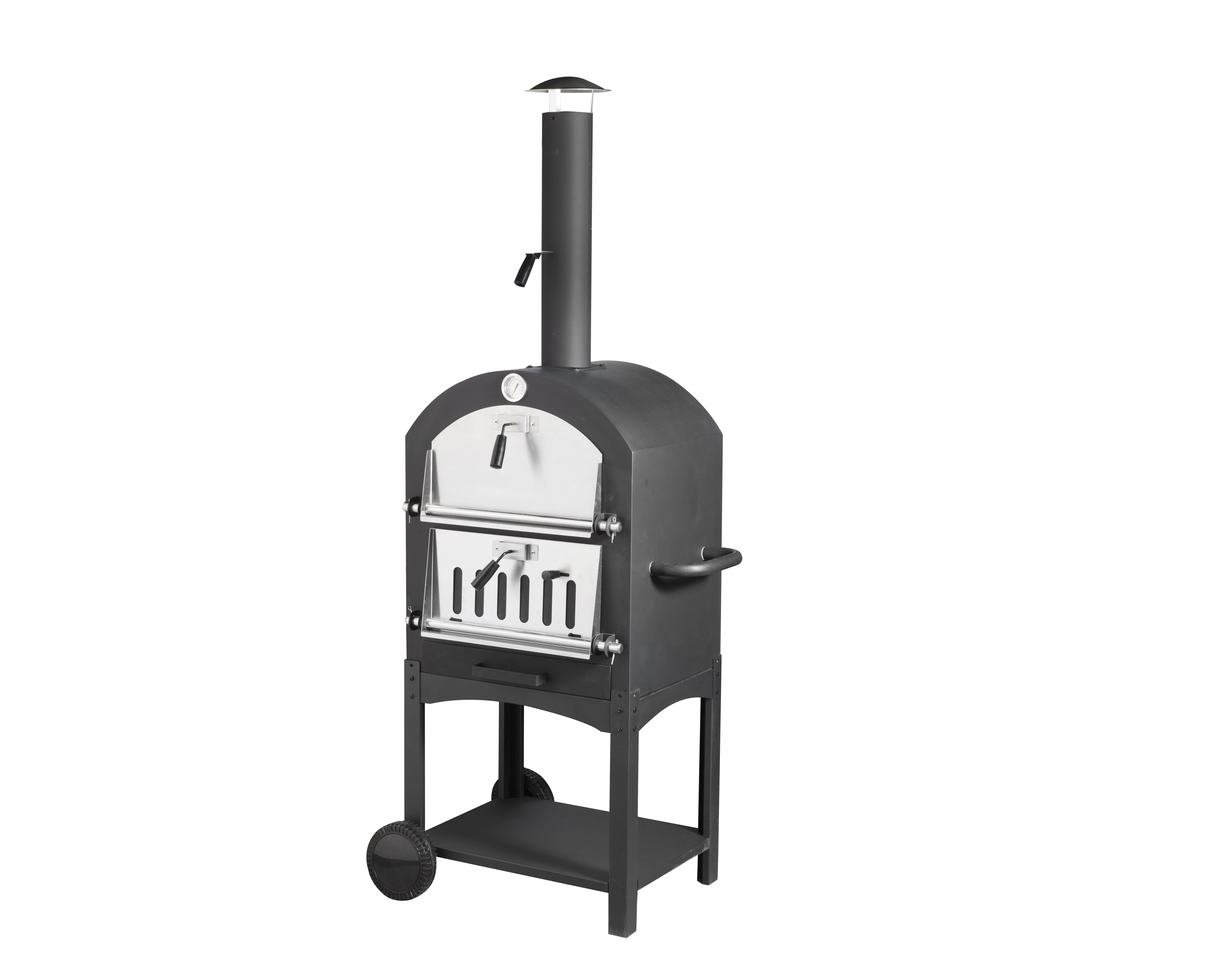 Charcoal Pizza Oven With BBQ