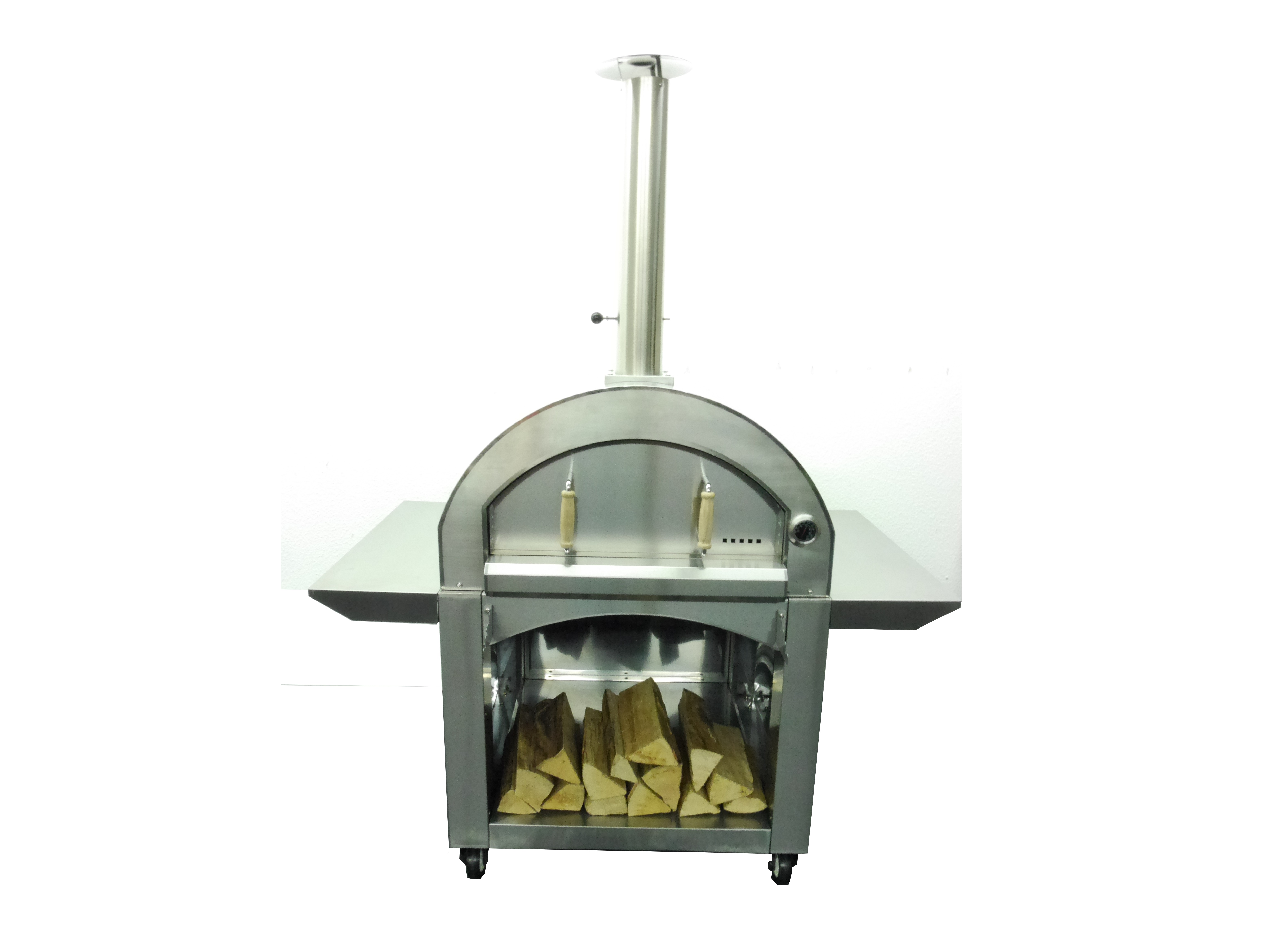 Outdoor Home Use Wood Fired Pizza Oven KU-006D